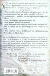 Soyez heureux (édition 2005) - 4ème de couverture - Format classique
