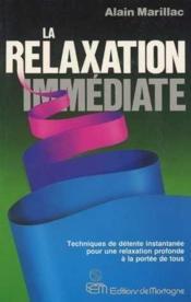 Relaxation Immediate - Couverture - Format classique