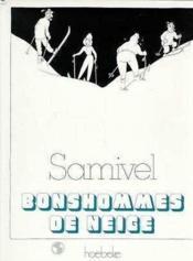 Bonshommes De Neige - Couverture - Format classique