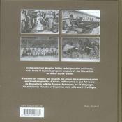 Marseillais ; scènes et types de Marseille d'Antan à travers la carte postale à l'ancienne - 4ème de couverture - Format classique