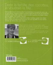 Minicocottes - 4ème de couverture - Format classique