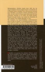 Le rêve brisé des Assyro-Chaldéens ; l'introuvable autonomie - 4ème de couverture - Format classique
