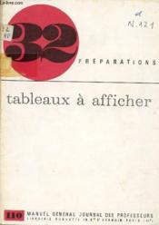 Tableaux A Afficher / Collection