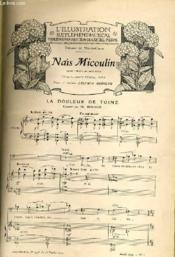 L'ILLUSTRATION SUPPLEMENTAIRE MUSICAL - Publié sous la direction de Gapriel Pierné. Supplément au N°3338 du 16 février 1907. Année 1907 - N°1 - Couverture - Format classique