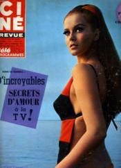 Cine Revue - Tele-Programmes - 47e Annee - N° 9 - Bien Jour Matt Helm - Couverture - Format classique