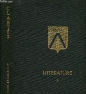 Tome 14 - Litteratures Anciennes - Litterature Francaise - Couverture - Format classique