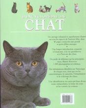 L'Encyclopedie Du Chat - 4ème de couverture - Format classique