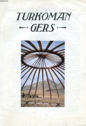 Turkoman Gers (Yurts) - Couverture - Format classique
