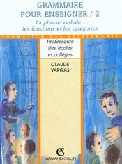Grammaire Pour Enseigner T.2 - Intérieur - Format classique