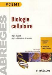 Biologie cellulaire (10e édition) - Intérieur - Format classique