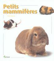 Petits Mammiferes - Intérieur - Format classique
