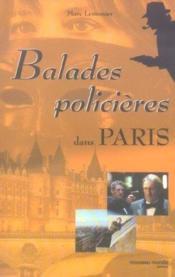 Balades policieres dans paris - Couverture - Format classique