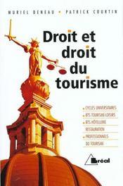Droit et droit du tourisme - Intérieur - Format classique