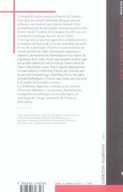 Cezanne, D'Un Siecle A L'Autre - 4ème de couverture - Format classique