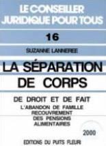 La Separation De Corps De Droit Et De Fait-L'abandon De Famille. - Couverture - Format classique