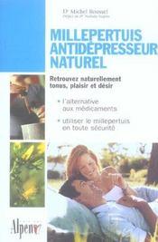 Millepertuis ; antidépresseur naturel ; retrouvez naturellement tonus, plaisir et désir - Intérieur - Format classique