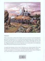 Falka T.2 ; Le Cristal Rouge - 4ème de couverture - Format classique