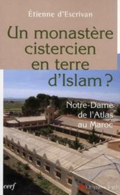 Un monastère cistercien en terre d'islam ? - Couverture - Format classique