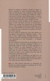 Un monastère cistercien en terre d'islam ? - 4ème de couverture - Format classique