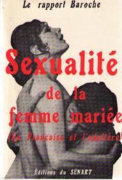 Sexualite de la femme mariee (la française et l'adultère) - Couverture - Format classique
