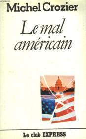 Le Mal Americain. - Couverture - Format classique
