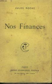 Nos Finances. - Couverture - Format classique