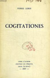 Cogitationes - Couverture - Format classique