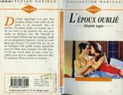 L'Epoux Oublie - The Forgotten Husband - Couverture - Format classique