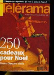 Telerama N°2289 - 250 Cadeaux Pour Noel, Livres, Disques, Video - Couverture - Format classique