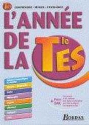 L'ANNEE DE ; terminale es - Intérieur - Format classique