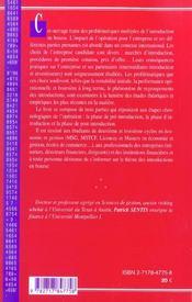 Introduction En Bourse - 4ème de couverture - Format classique