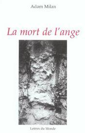 La mort de l'ange - Intérieur - Format classique