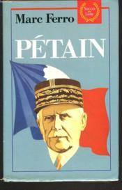 Petain - Couverture - Format classique