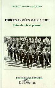 Forces Armees Malgaches: Entre Devoir Et Pouvoir - Intérieur - Format classique