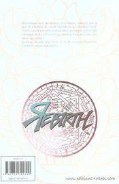 Rebirth t.7 - 4ème de couverture - Format classique