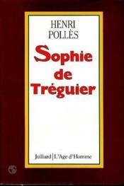 Sophie De Treguier - Couverture - Format classique