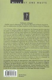 Rapports sur les camps de regroupement et autres textes sur la guerre d'Algérie - 4ème de couverture - Format classique
