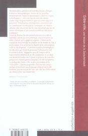 Entre-Ville ; Une Lecture De La Zwischenstadt - 4ème de couverture - Format classique
