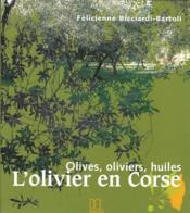 L'olivier en Corse - Couverture - Format classique