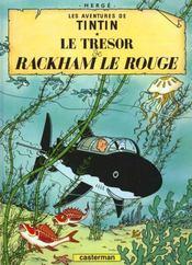 Les aventures de Tintin T.12 ; le trésor de Rackham le rouge - Intérieur - Format classique