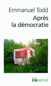 Après la démocratie - Couverture - Format classique