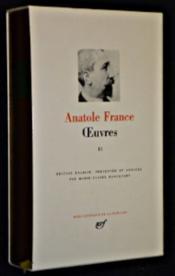 Oeuvres t.2 ; la rôtisserie de la reine Pédauque ; les opinions de M. Jérôme Coignard ; le lys rouge ; le puits de Sainte Claire ; l'orme du mail ; le mannequin d'osier - Couverture - Format classique