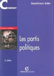 Les partis politiques (2e édition) - Intérieur - Format classique