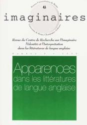 IMAGINAIRES N.6 ; apparences dans les littératures de langue anglaise - Couverture - Format classique