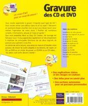 Tout En Images Gravure De Cd Et Dvd - 4ème de couverture - Format classique