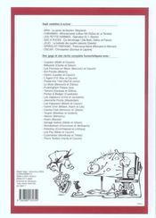 Recueil spirou t.278 - 4ème de couverture - Format classique