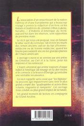 Esprit du grand ancetre (l') - 4ème de couverture - Format classique