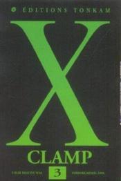 X t.3 - Couverture - Format classique