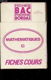 Fb Math C - Couverture - Format classique