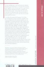 Ethique Du Bati - 4ème de couverture - Format classique